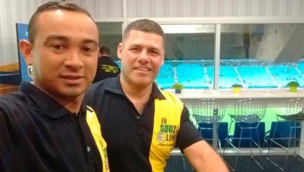 Ganhadores do Concurso Dia dos Pais assistem a vitória da Seleção Brasileira em Porto Alegre